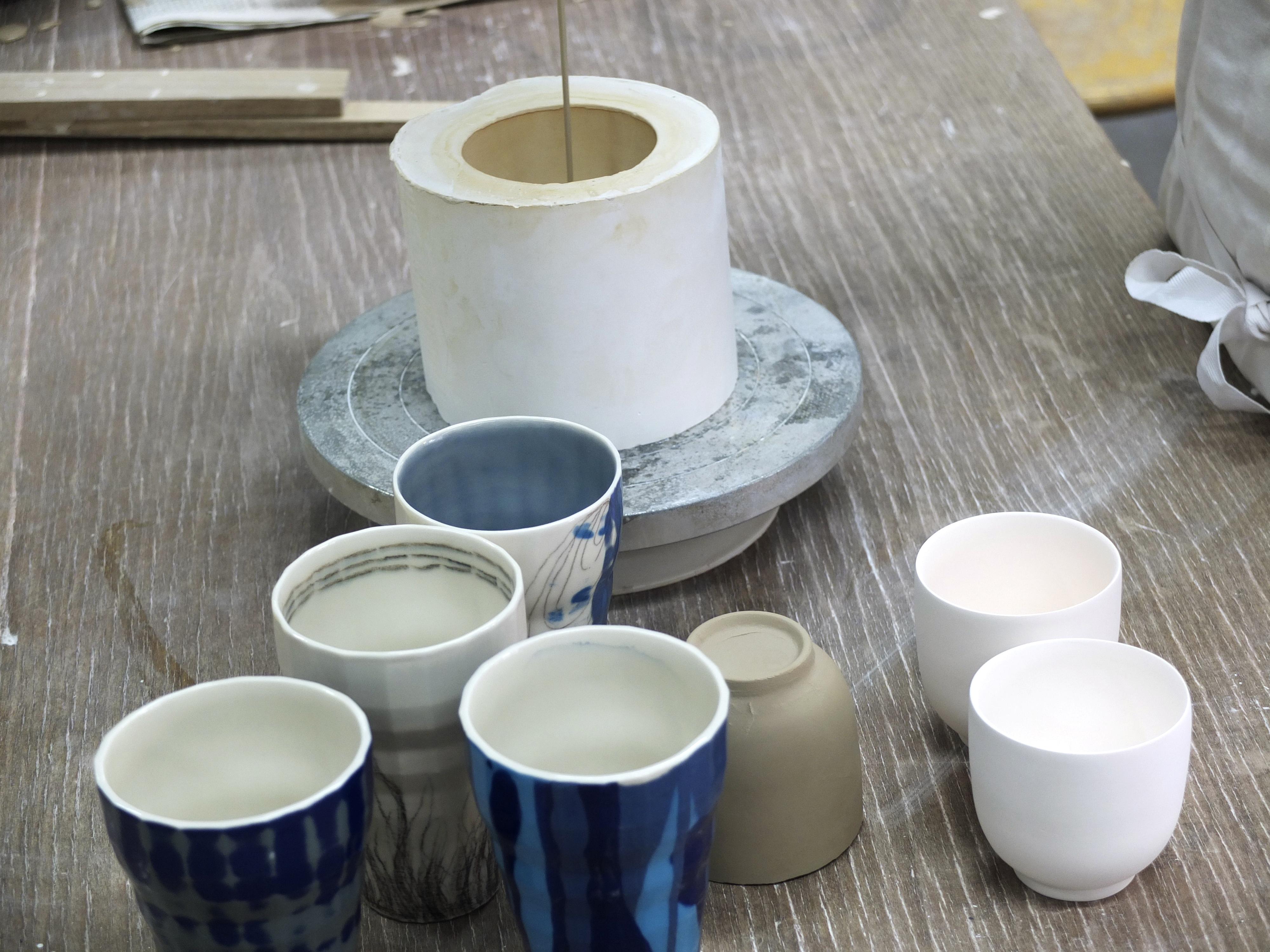 porzellan giessen gipsformen herstellen keramikwerk. Black Bedroom Furniture Sets. Home Design Ideas